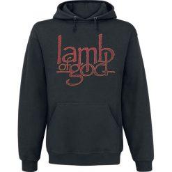 Bejsbolówki męskie: Lamb Of God Vulture Bluza z kapturem czarny