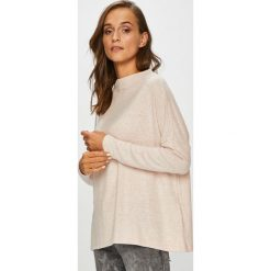 Only - Sweter. Szare swetry klasyczne damskie ONLY, l, z dzianiny, z okrągłym kołnierzem. Za 119,90 zł.