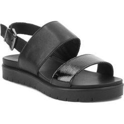 Rzymianki damskie: Sandały IMAC – 107710 Black/Black 1400/011