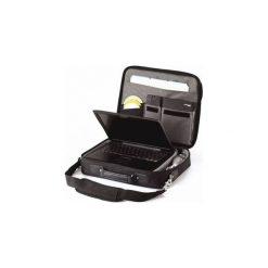 """Torba do laptopa Targus Notepac 15""""-16""""  (CN01). Czarne torby na laptopa marki Targus, w paski, z gumy. Za 90,99 zł."""