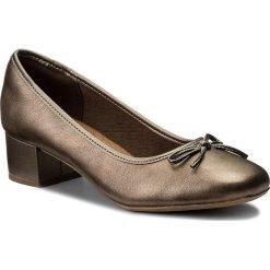 Półbuty damskie: Półbuty CLARKS – Chartli Daisy 261284754 Pewter Leather