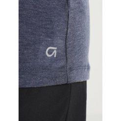 GAP BREATHE TWISTED BACK  Koszulka sportowa indigo. Niebieskie t-shirty damskie GAP, xl, z elastanu. Za 149,00 zł.