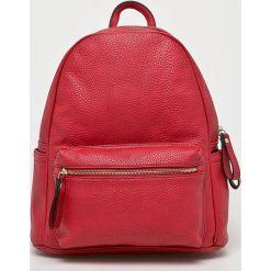 Answear - Plecak. Różowe plecaki damskie ANSWEAR, z materiału. W wyprzedaży za 119,90 zł.