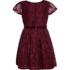 Sukienki dziewczęce z falbanami: Carter's Sukienka koktajlowa maroon