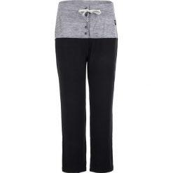 Bryczesy damskie: Spodnie dresowe w kolorze czarno-szarym
