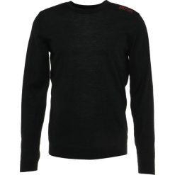 BOSS ATHLEISURE RATIE PRO Sweter black. Niebieskie swetry klasyczne męskie marki BOSS Athleisure, m. Za 629,00 zł.
