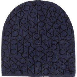 Czapka CALVIN KLEIN - Power Logo Hat K50K502125 422. Niebieskie czapki damskie Calvin Klein, z materiału. Za 129,00 zł.