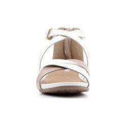 Sandały Geox  D Formosa A D7293A-0BV85-C1181. Białe sandały damskie Geox. Za 271,80 zł.