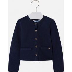 Mayoral - Sweter dziecięcy 98-134 cm. Szare swetry dziewczęce Mayoral, z bawełny. Za 79,90 zł.