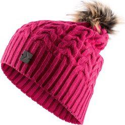 Czapka damska CAD616 - różowy - Outhorn. Czerwone czapki zimowe damskie Outhorn, na jesień. Za 34,99 zł.