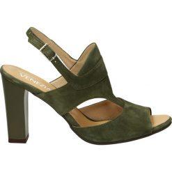 Sandały damskie: Sandały - 550 NAB VERDE