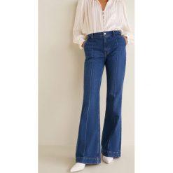 Mango - Jeansy Choco. Niebieskie jeansy damskie marki Mango. Za 199,90 zł.