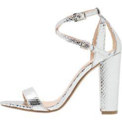 Sandały damskie: Office HABANA Sandały na obcasie silver