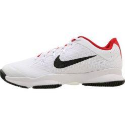 Nike Performance AIR ZOOM ULTRA Obuwie do tenisa Outdoor white/black/univ red. Białe buty do tenisa męskie Nike Performance, z materiału. W wyprzedaży za 377,10 zł.