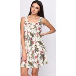 Sukienki: Jasnożółta Sukienka Pick It Up