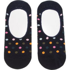 Skarpety Stopki Unisex HAPPY SOCKS - DOT06-6001 Czarny Kolorowy. Czarne skarpetki męskie Happy Socks, w kolorowe wzory, z bawełny. Za 27,90 zł.