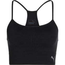 T-shirty damskie: Puma EVOKNIT SEAMLESS CROP  Koszulka sportowa black
