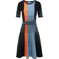 BOSS CASUAL WILDAH Sukienka dzianinowa open blue. Niebieskie sukienki dzianinowe BOSS Casual, na co dzień, xl, casualowe. Za 959,00 zł.