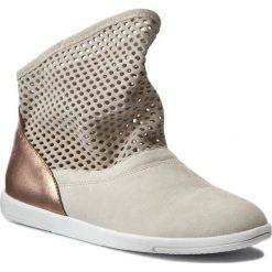 Botki EMU AUSTRALIA - Numeralla W11071 Natural/Rose Gold. Szare buty zimowe damskie marki EMU Australia, z gumy. W wyprzedaży za 319,00 zł.