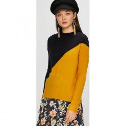 Jacqueline de Yong - Sweter Eva. Pomarańczowe swetry klasyczne damskie marki Jacqueline de Yong, l, z dzianiny. Za 119,90 zł.