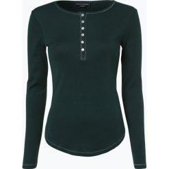 Franco Callegari - Damska koszulka z długim rękawem, zielony. Zielone t-shirty damskie marki Franco Callegari, z napisami. Za 69,95 zł.