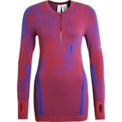 Adidas by Stella McCartney Bluzka z długim rękawem legend red/bold blue. Czerwone bluzki longsleeves adidas by Stella McCartney, s, z elastanu, sportowe. W wyprzedaży za 399,20 zł.
