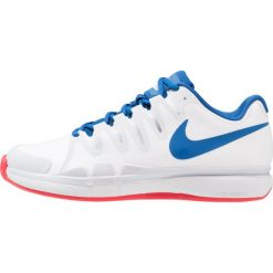 Buty sportowe męskie: Nike Performance ZOOM VAPOR 9.5 TOUR CLAY Obuwie do tenisa Outdoor white/blue jay/pure platinum/action red/metallic silver