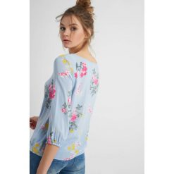 Bluzki asymetryczne: Luźna bluzka w kwiaty