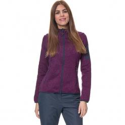 Kurtka polarowa w kolorze fioletowym. Fioletowe kurtki damskie marki CMP Women, z dzianiny. W wyprzedaży za 172,95 zł.