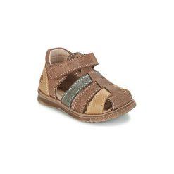 Sandały Dziecko  Citrouille et Compagnie  FRINOUI. Brązowe sandały chłopięce Citrouille et Compagnie. Za 149,00 zł.