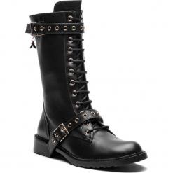 Kozaki PATRIZIA PEPE - 2V8200/A483-K103 Nero. Czarne buty zimowe damskie marki Patrizia Pepe, ze skóry. W wyprzedaży za 1389,00 zł.