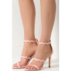 Różowe Sandały Hominem. Czerwone sandały damskie vices, na wysokim obcasie. Za 69,99 zł.
