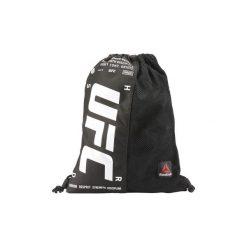 Plecaki Reebok Sport  Torba-worek UFC Drawstring. Czarne plecaki męskie Reebok Sport. Za 99,95 zł.