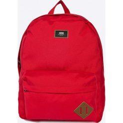 Vans - Plecak. Czerwone plecaki męskie marki Vans, z poliesteru. Za 149,90 zł.