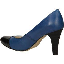 CZÓŁENKA CASU 113. Szare buty ślubne damskie Casu, na koturnie. Za 149,99 zł.