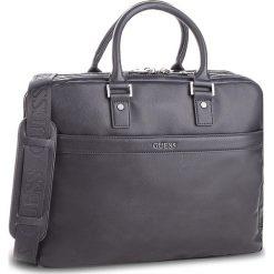 Torba na laptopa GUESS - HM6540 POL84 GRY. Szare torby na laptopa Guess, z aplikacjami, ze skóry ekologicznej. Za 679,00 zł.