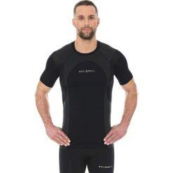 Brubeck Koszulka męska Dynamic Outdoor SS12510 czarna r. XL. Czarne koszulki sportowe męskie marki Brubeck, m. Za 99,99 zł.