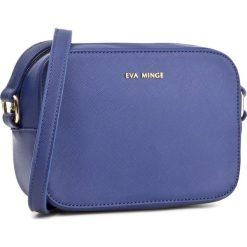 Torebka EVA MINGE - Evita 2A 17NB1372165EF 907. Niebieskie listonoszki damskie Eva Minge, ze skóry ekologicznej. W wyprzedaży za 169,00 zł.