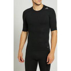Podkoszulki męskie: adidas Performance TECHFIT Podkoszulki black