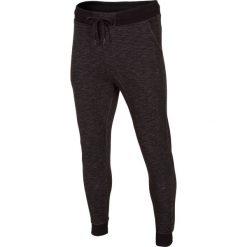 Joggery męskie: Spodnie dresowe męskie SPMD003 – głęboka czerń