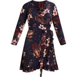 Sukienki hiszpanki: YAS YASILVALY Sukienka letnia night sky