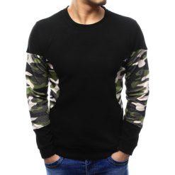Swetry klasyczne męskie: Sweter męski czarny (wx1038)