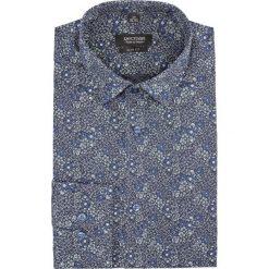 Koszula versone 2733 długi rękaw slim fit granatowy. Niebieskie koszule męskie slim Recman, m, z długim rękawem. Za 159,00 zł.
