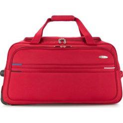 Torba podróżna V25-10-479-30. Czerwone torby podróżne Wittchen, z materiału. Za 259,00 zł.