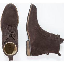 Botki męskie: Shoe The Bear WALKER  Botki sznurowane dark brown