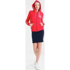 Tommy Jeans LOGO ZIP HOODIE Bluza rozpinana ski patrol. Czerwone bluzy rozpinane damskie marki Tommy Jeans, xxs, z bawełny. W wyprzedaży za 359,20 zł.
