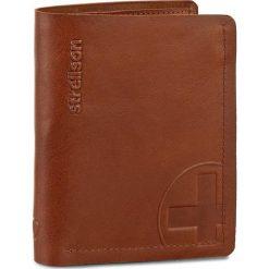 Duży Portfel Męski STRELLSON - Edwyn 4010000220 Cognac 703. Brązowe portfele męskie marki Strellson. W wyprzedaży za 129,00 zł.
