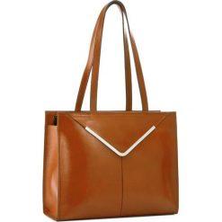 Torebka CREOLE - RBI10154  Koniak. Czarne torebki klasyczne damskie marki Creole, ze skóry. W wyprzedaży za 309,00 zł.
