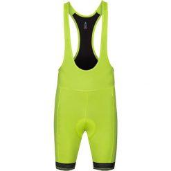 Odlo Spodenki tech. Odlo Tights short suspenders FUJIN              - 422052 - 422052/40191/L. Zielone spodenki sportowe męskie Odlo, sportowe. Za 230,04 zł.