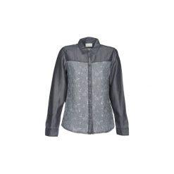 Koszule Esprit  Denim Blouse. Szare koszule nocne i halki Esprit, xs, z denimu. Za 247,20 zł.